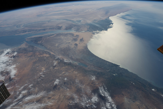 The Nile Delta has great potential for Dana Gas. (Image Source: NASA Johnson/Flickr)