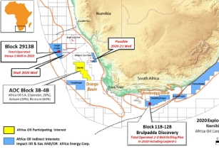 Africa Oil announces completion of Farmin to Block 3B/4B in South Africa