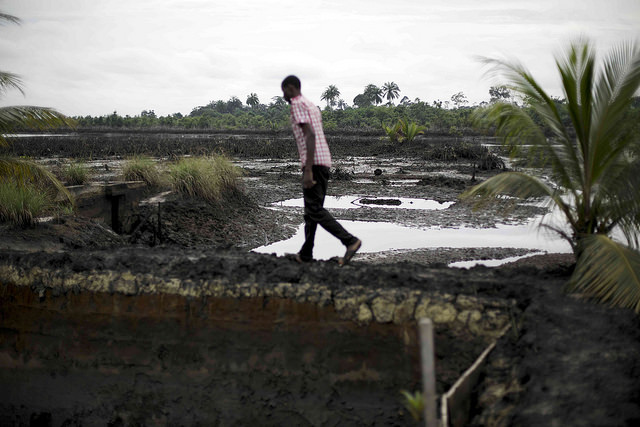 Nigeria launches clean-up for Ogoniland oil region