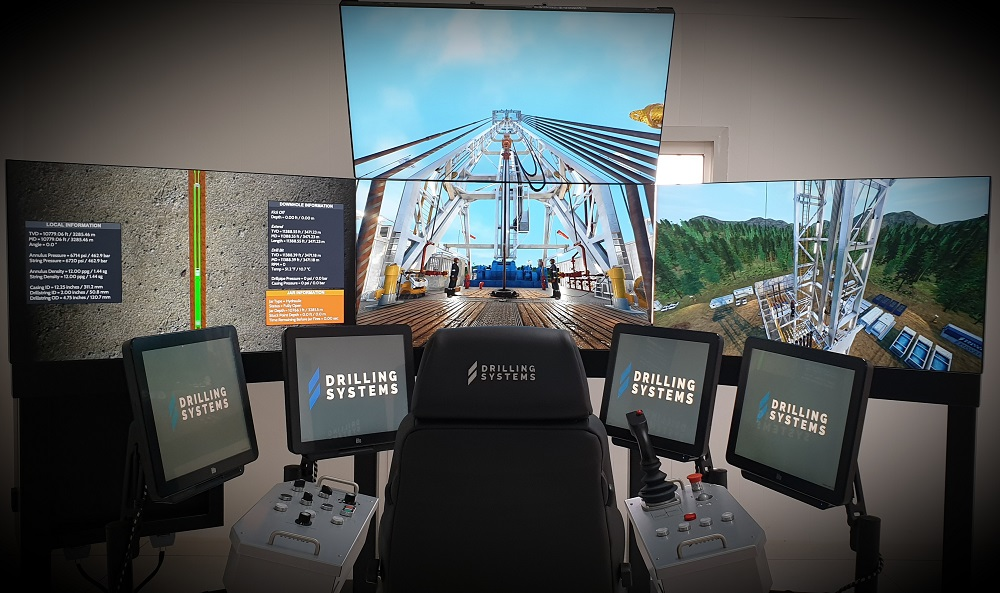 Saipem installs new Drilling Systems simulator 1