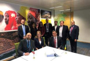 Tortue Subsea EPCI and SPS Signing Group